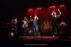 Les Rois de la Fête - Concert de Mister Cover. Crédit photo : Albert Blond